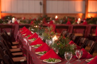 TABLE SEATING & LINENS
