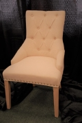 Rental store for VINTAGE BEIGE PARLOR CHAIR in Murfreesboro TN