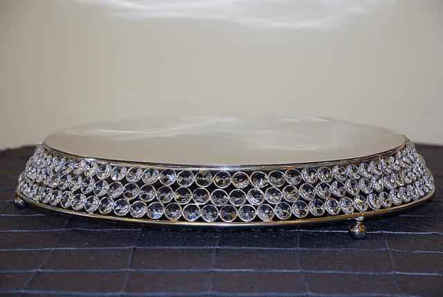Where to find 17  ROUND CRYSTAL CAKE STAND in Murfreesboro