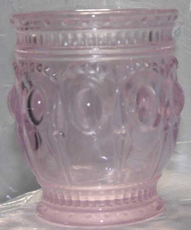 Where to find OLD FASHION GLASS PINK  9 oz in Murfreesboro