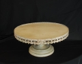 Rental store for 22  RD WHITE ANTIQUE CAKE STAND in Murfreesboro TN