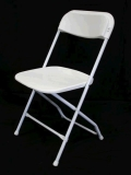 Rental store for FOLDING WHITE WEDDING CHAIR in Murfreesboro TN