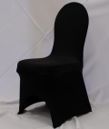 Rental store for BLACK SPANDEX CHAIR COVER in Murfreesboro TN
