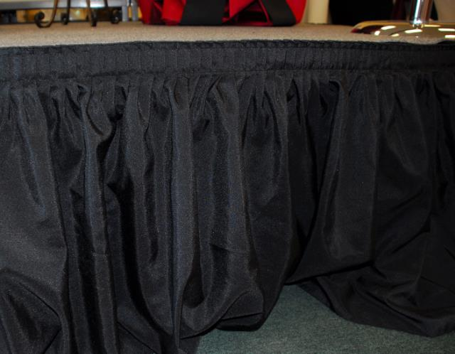 Where to find BLACK STAGE SKIRT 10  X 24  SHIR PLEAT in Murfreesboro