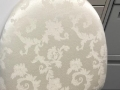 Rental store for IVORY W  FLOWER PATTERN - CHAIR CUSHION in Murfreesboro TN