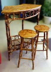 Where to find BAMBOO BAR TABLE   2 BAR STOOLS in Murfreesboro