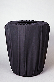 Where to find POLY GARBAGE CAN COVERS  44 GAL  BLACK in Murfreesboro