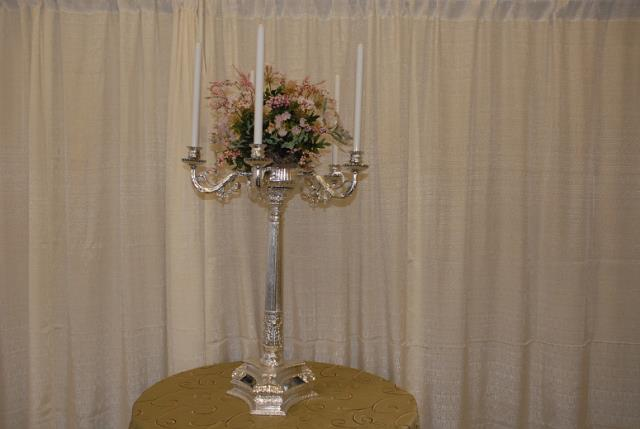 Where to find SILVER TABLE 5 LITE CANDELABRA-24  FANCY in Murfreesboro