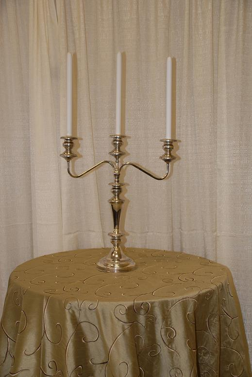 Where to find SILVER TABLE 3 LIGHT CANDELABRA  18 in Murfreesboro