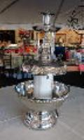 Rental store for 3 GALLON SILVER FOUNTAIN W  LIGHT in Murfreesboro TN