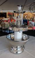 Rental store for 5 GALLON SILVER FOUNTAIN W  LIGHT in Murfreesboro TN