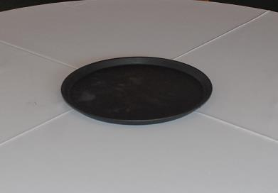 Where to find 14  ROUND BLACK WAITERS TRAY in Murfreesboro