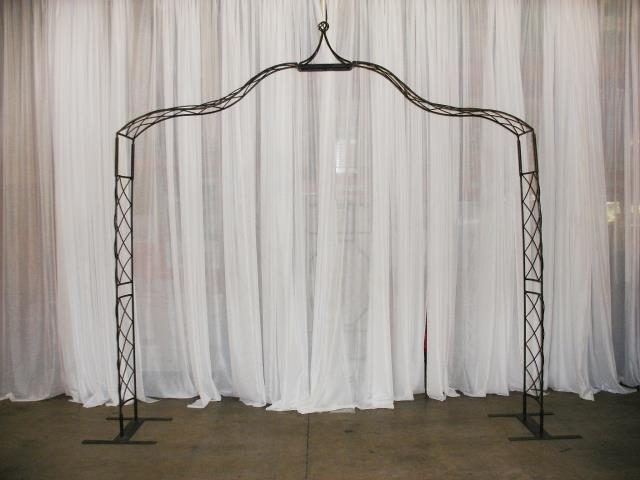 Where to find BLACK WROUGHT IRON CROWN POINT ARCH in Murfreesboro