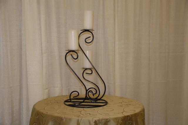 Where to find BLACK 3-LITE TABLE CANDLE STAND in Murfreesboro