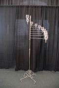 Rental store for SILVER T-LIGHT SPIRAL CANDELABRA in Murfreesboro TN