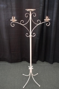Rental store for WHITE UNITY CANDELABRA - 1 LARGE BASE in Murfreesboro TN
