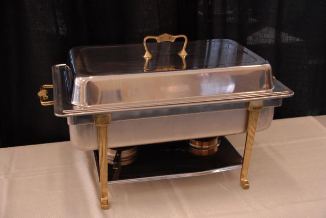 Where to find STAINLESS W  BRASS TRIM CHAFER PAN in Murfreesboro