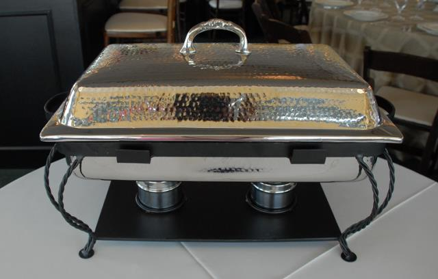 Where to find 8 QT OBLONG HAMMERED STAINLESS CHAFER in Murfreesboro
