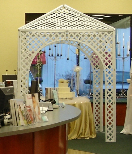 Where to find WHITE LATTICE GAZEBO in Murfreesboro
