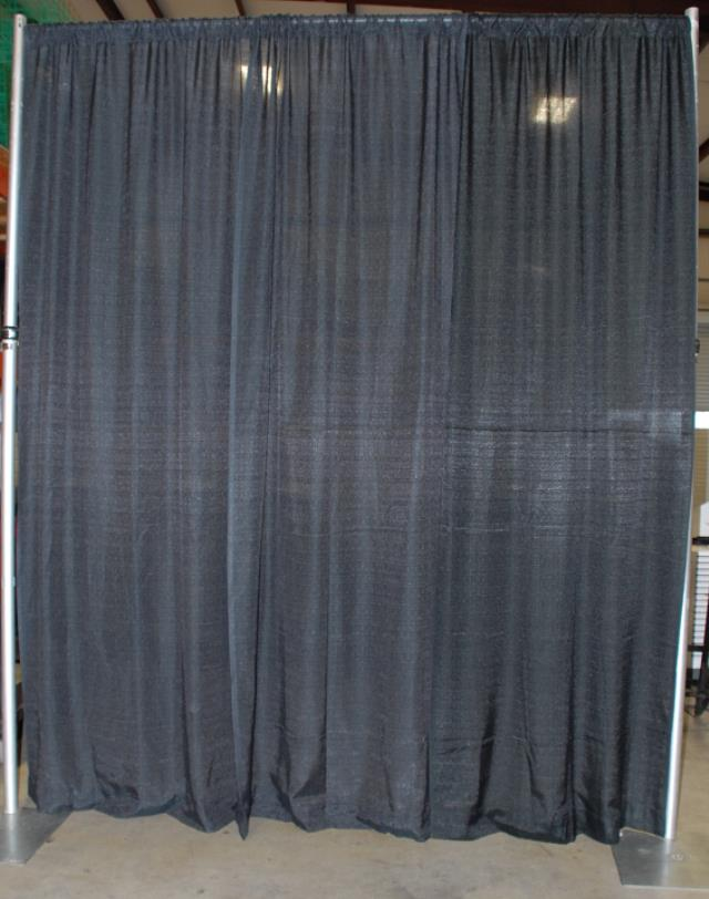 Where to find PIPE   DRAPE BLACK  10 h x 10 w  SECTION in Murfreesboro