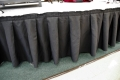 Rental store for BLACK STAGE BAR SKIRT 10  X 18 in Murfreesboro TN