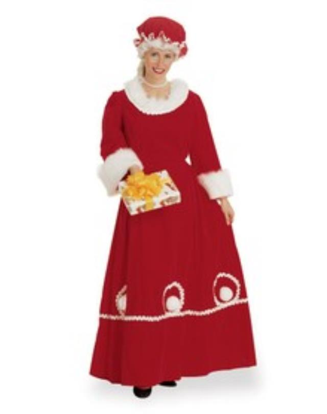 Where to find MRS. CLAUSE COSTUME in Murfreesboro