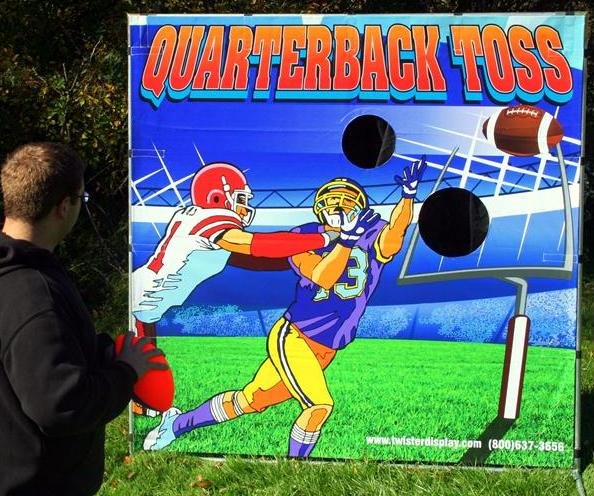 Where to find QUARTERBACK TOSS FRAME GAME in Murfreesboro