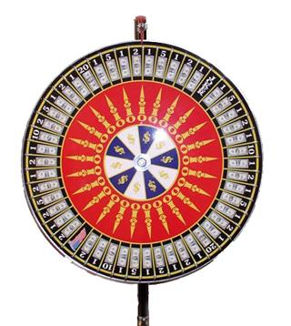 Where to find MONEY WHEEL  30  TABLE TOP STYLE in Murfreesboro
