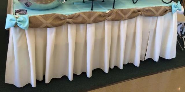 Rent Linen - Table Skirting