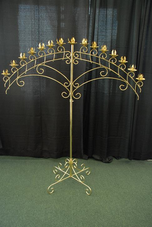 Rent Wedding - Candelabra Brass