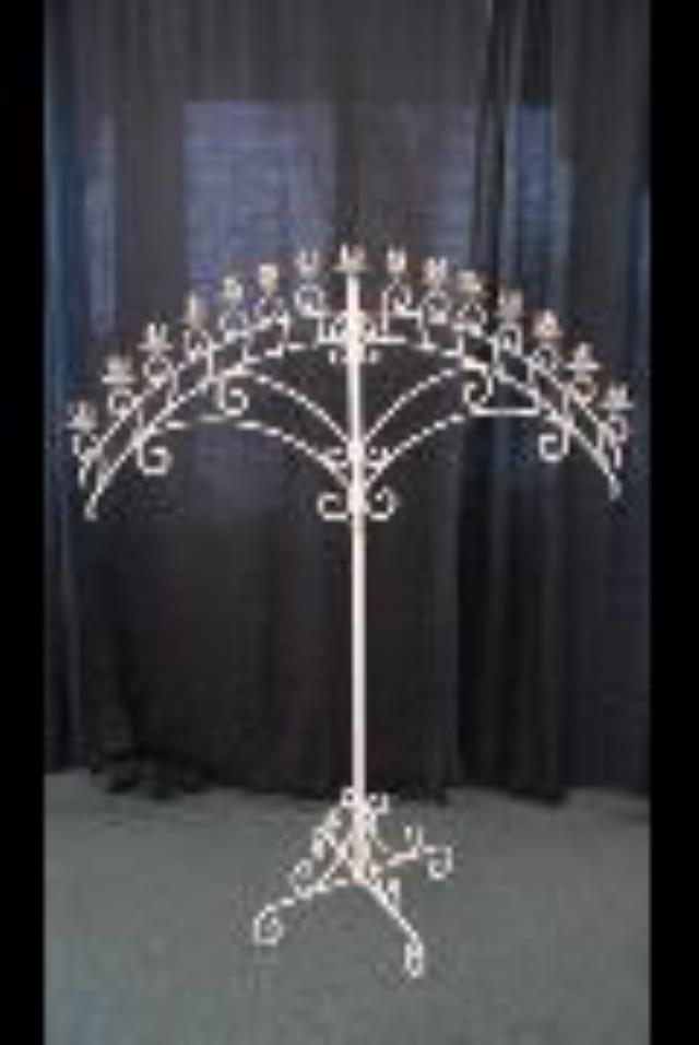 Rent Wedding - Candelabra White