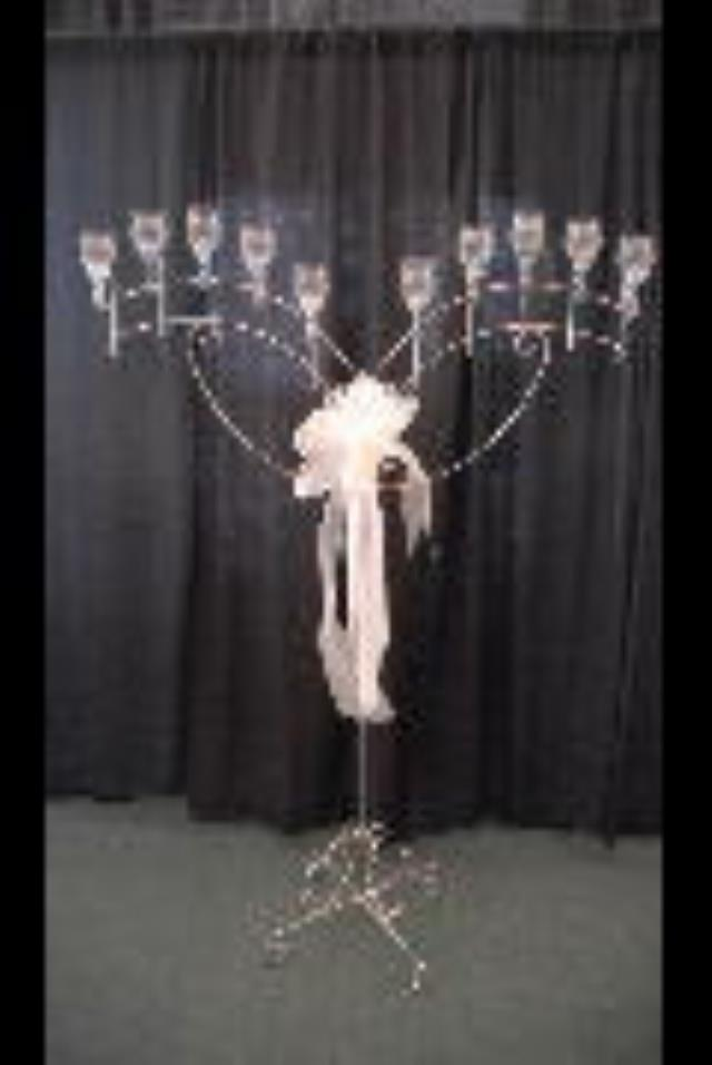 Rent Wedding - Candelabra Tea Light