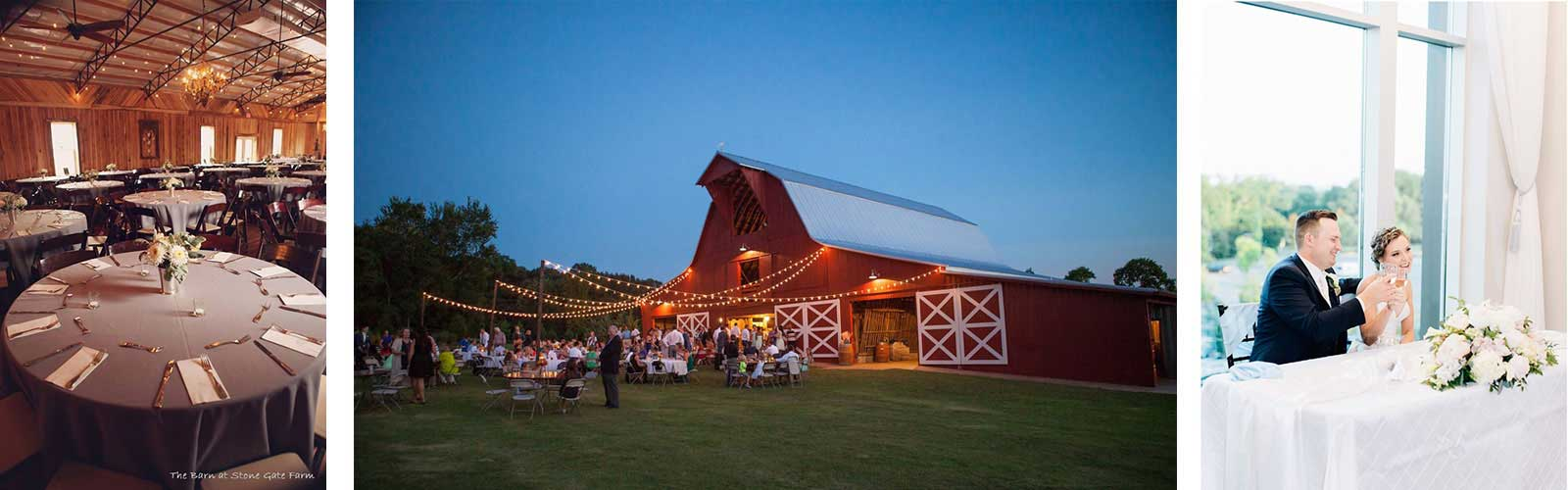 Wedding rentals in Middle Tennessee
